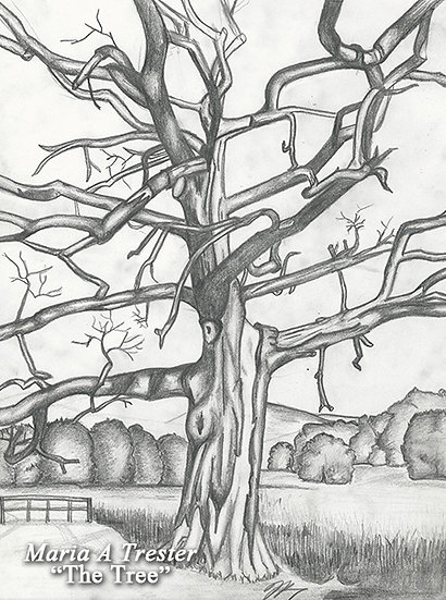 """The Tree"" 8.5""x11"" Print w/ Frame"