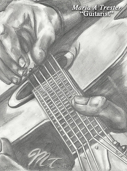 """The Guitarist"""
