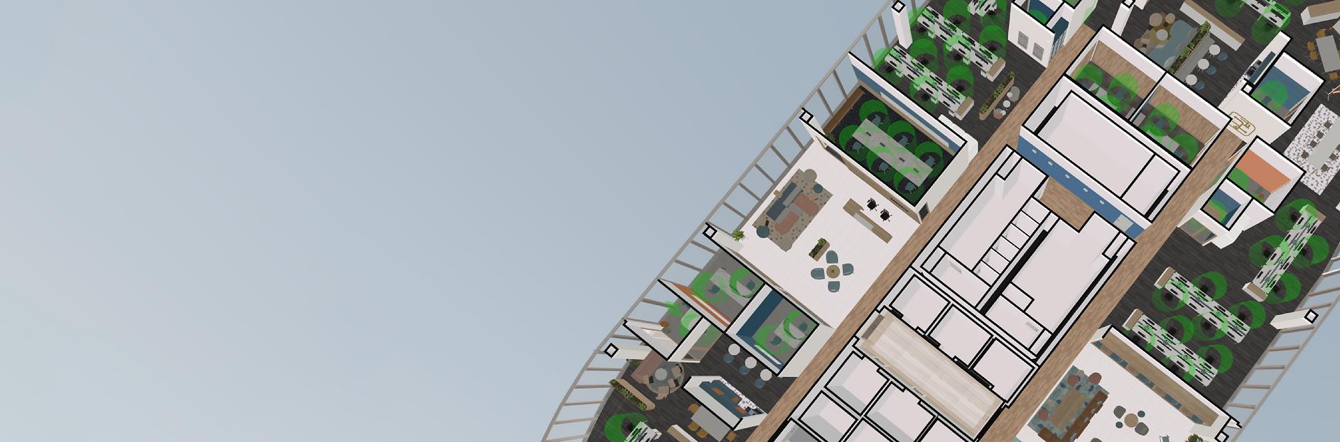 Saltmine 3D floorplan