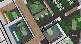 CAD CAFM Services for Space Re-Design, Social Distancing and Physical Distancing to Reopen the Workplace and Office after COVID-19   Return to Work Solutions by Impec Group