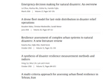 the 4th most cited article in International Journal of Disaster Risk Reduction