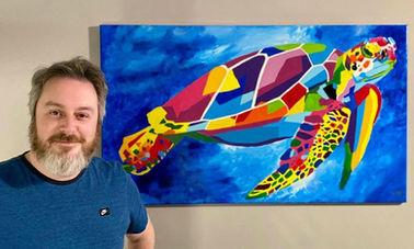 Colorful Turtle