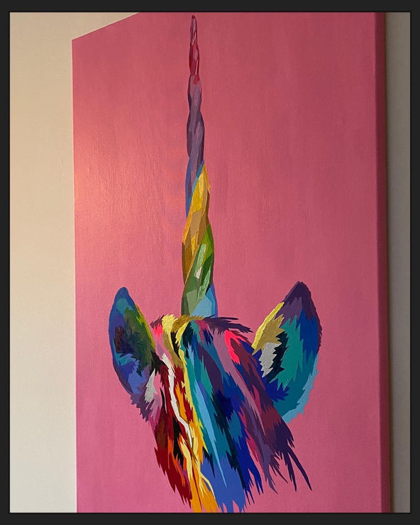 Colorful Unicorn Horn