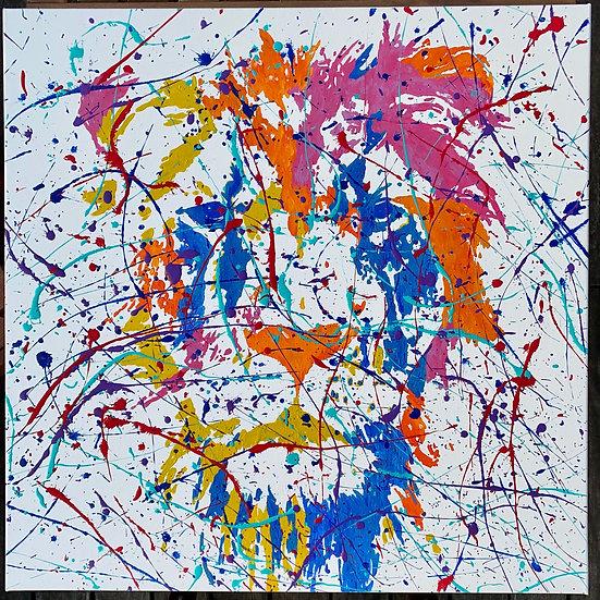 Colorful Lion