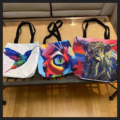 Colorful Bags - small and medium size