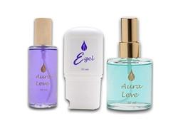 Aura Leve Violeta, Turquesa e E-gel!