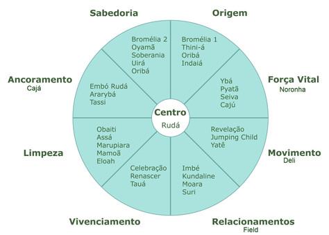 Mandala Ararêtama simplificada