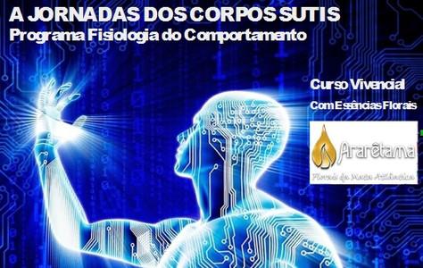 CURSO A JORNADA DOS CORPOS SUTIS- PROGRAMA FISIOLOGIA DO COMPORTAMENTO – AGOSTO/2017