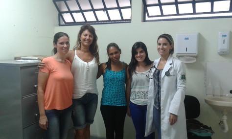 Trabalho voluntário com a Terapia Floral na região de Mariana, MG, com as vítimas da barragem da Sam