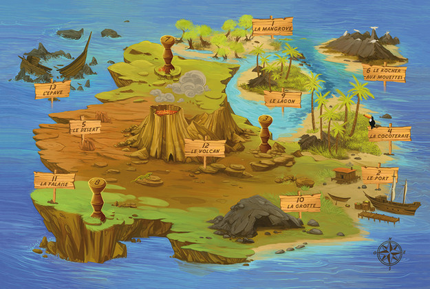 L'île de blabla
