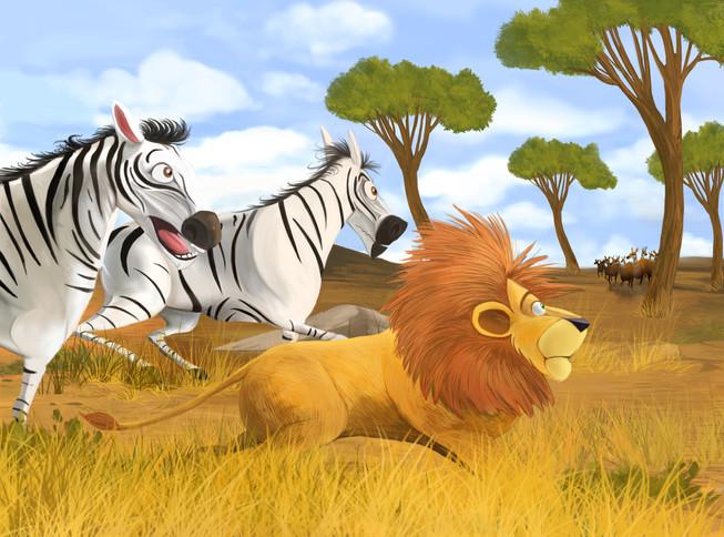 Un lion pas comme les autres