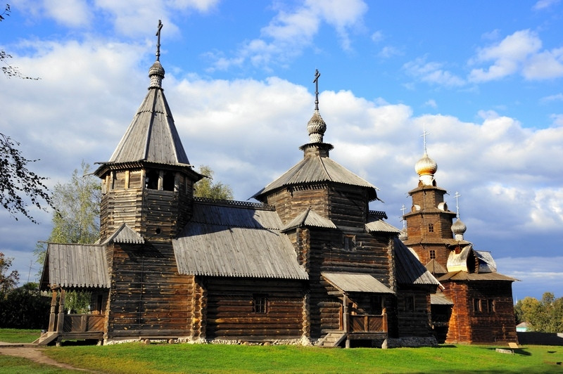 Suzdal, Wooden archtecture museum