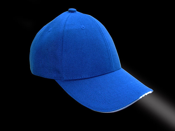 Foresight-LED Illuminating Cap - Blue