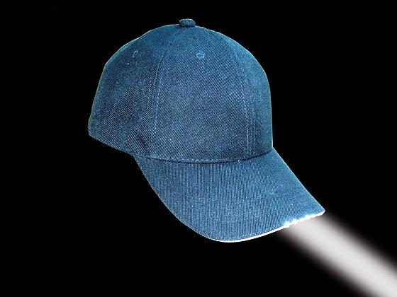 Foresight-LED Illuminating Cap - BLACK