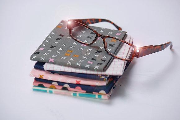 Foresight-LED Glasses - Tortoise Shell