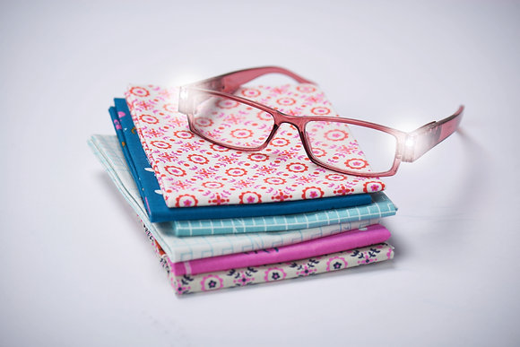 Foresight-LED Glasses - Dusky Pink