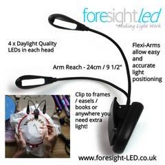 Foresight-LED Flexi-Arm LED Lights
