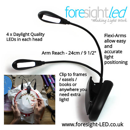 Foresight-LED Re-Chargeable Flexi-Arm Adjustable LED Light