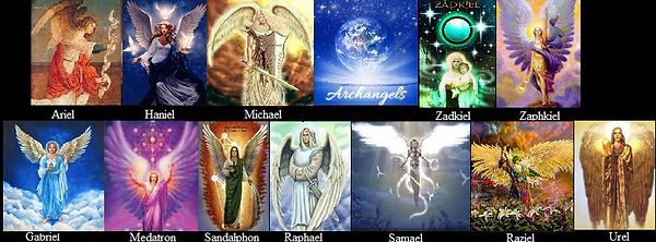 Image result for 12 archangels of god