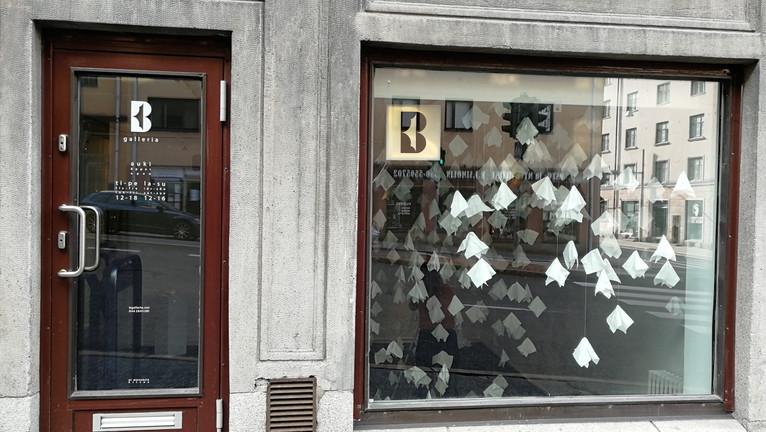 ITKE SE POIS, B-galleria, Turku 13.-25.8.2019