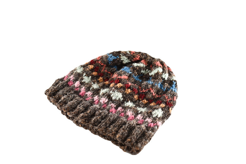 Back to Back Dotted Beanie