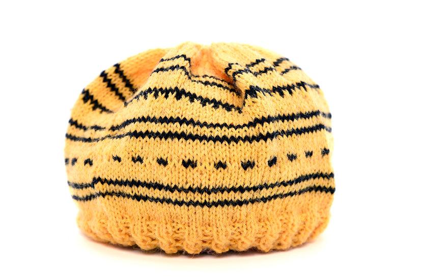 Sigrid Handmade Baby Wool Hat