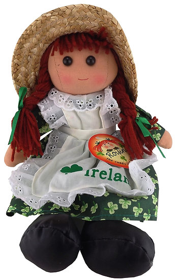 Roisin in Hat Plush Ragdoll