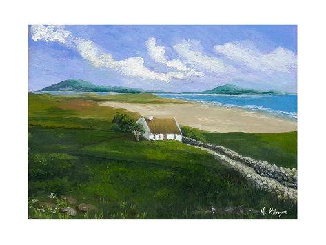 Maura Kilcoyne - 'Beach Watch' Card