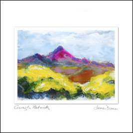 Cards from Ireland – Croagh Patrick Landscape