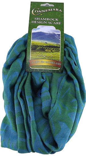 Connemara Turquoise Pashmina Scarf
