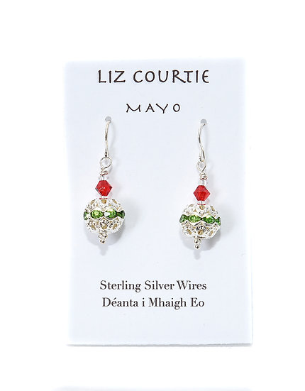 Liz Courtie Handmade Sterling Silver Drop Earrings