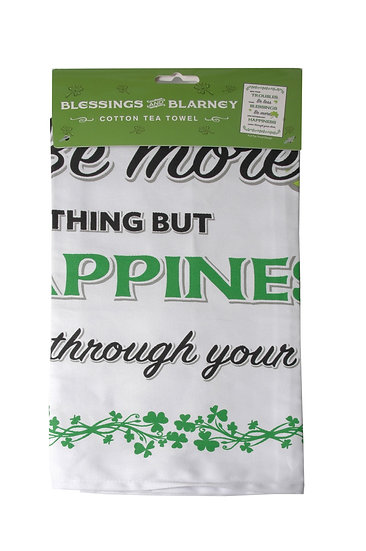 Blessings & Blarney Cotton Tea Towel