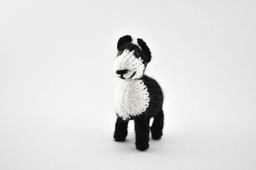 Clare's Crafts Hand-Knit Sheepdog