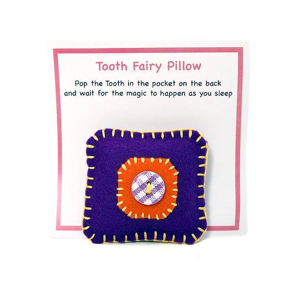 Dolly Rockers Felt Tooth Fairy Pillow