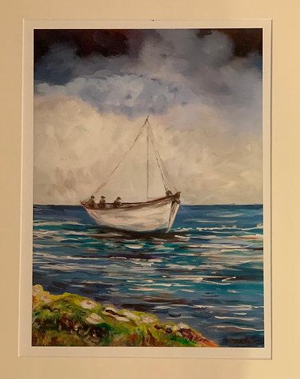 Maura Kilcoyne - 'Sail Away with Me on the Atlantic'