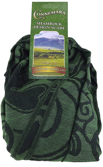 Connemara Green Pashmina Scarf