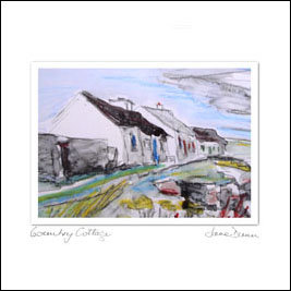 Cards from Ireland – Country Cottage