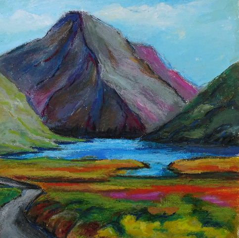 Cards from Ireland – Doolough Pass, County Mayo