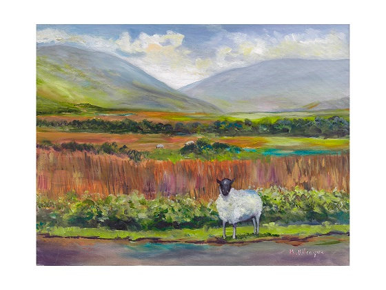 Maura Kilcoyne  - 'Lonely Sheep' Card