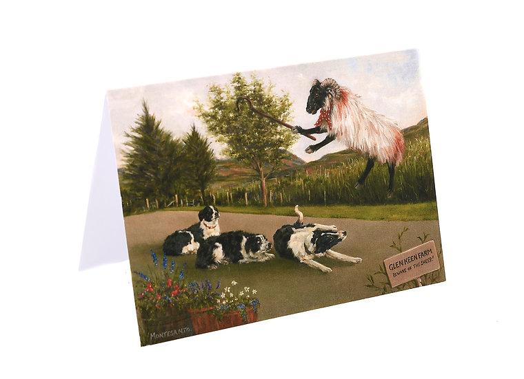 Glen Keen Farm 'Sheep Take Over at Glen Keen Farm' Card