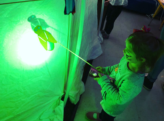 Firefly in development at the Omaha Children's Museum