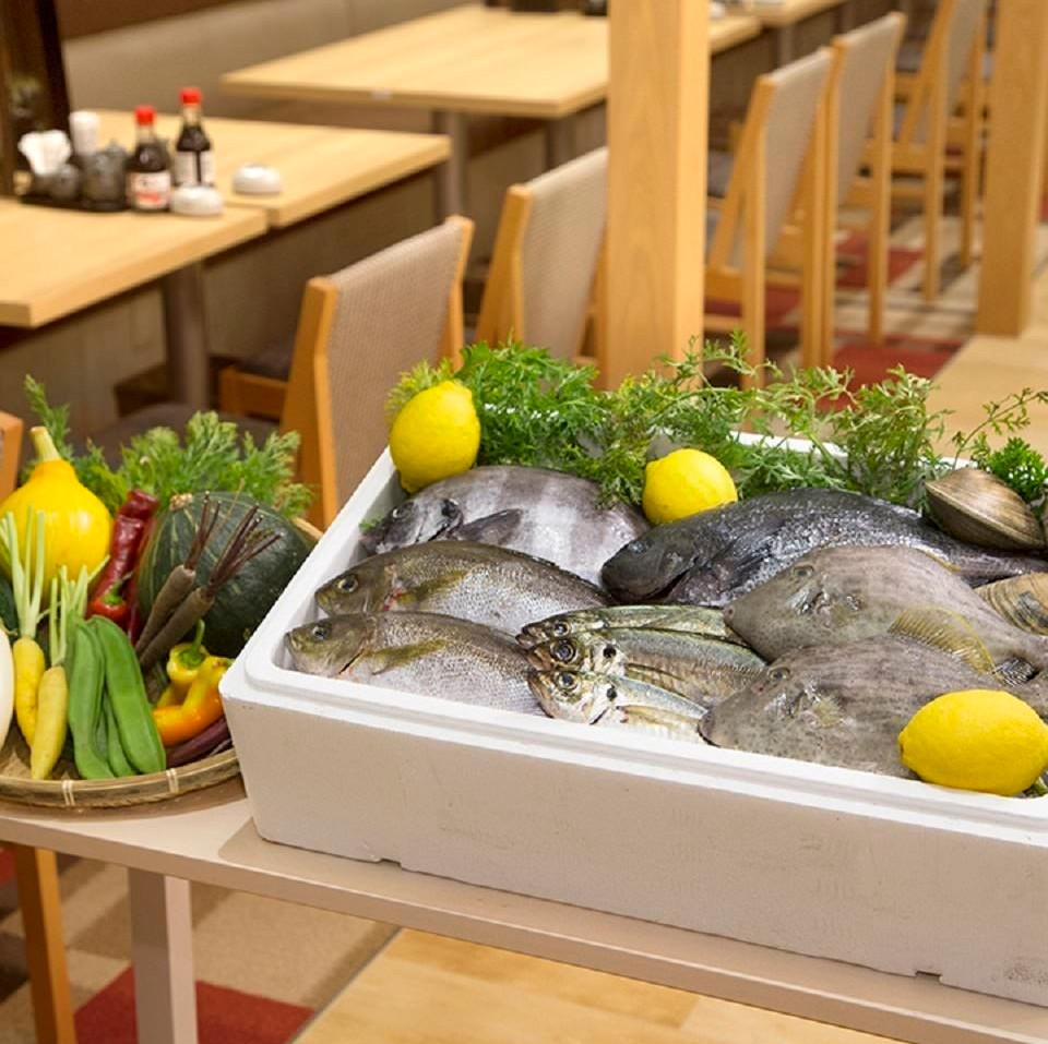 お魚どうらく店内イメージ