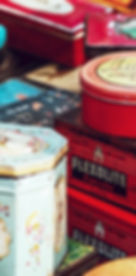 Old Tin Containers