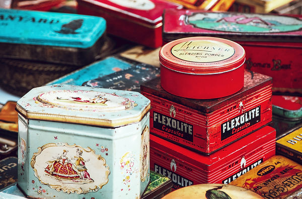 Old Tin Container