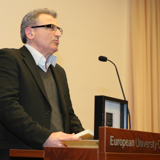Lecture at European University 2013