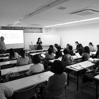 Seminar in Tokyo, Japan, 2015