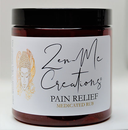 MEDICATED PAIN RELIEF - 8 oz.
