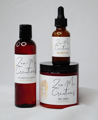 BEARD SHAMPOO, CONDITIONER AND OIL