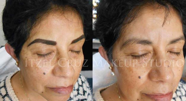 Maquillaje permanente de ceja