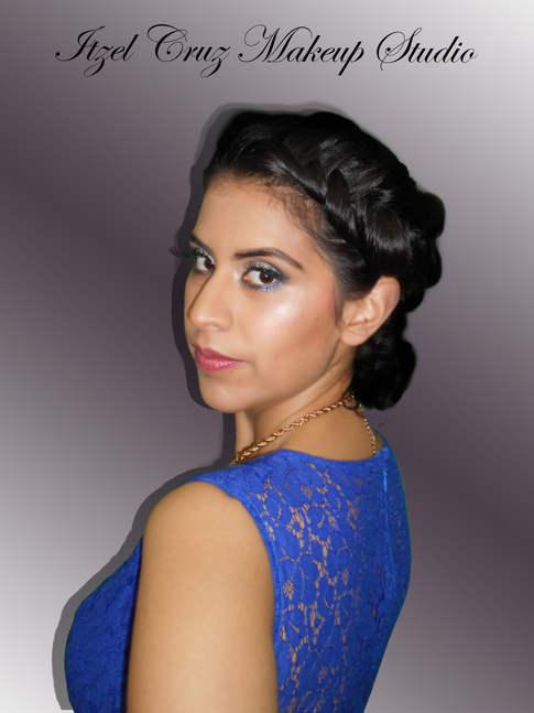 Maquillaje y peinado profesional para eventos DF